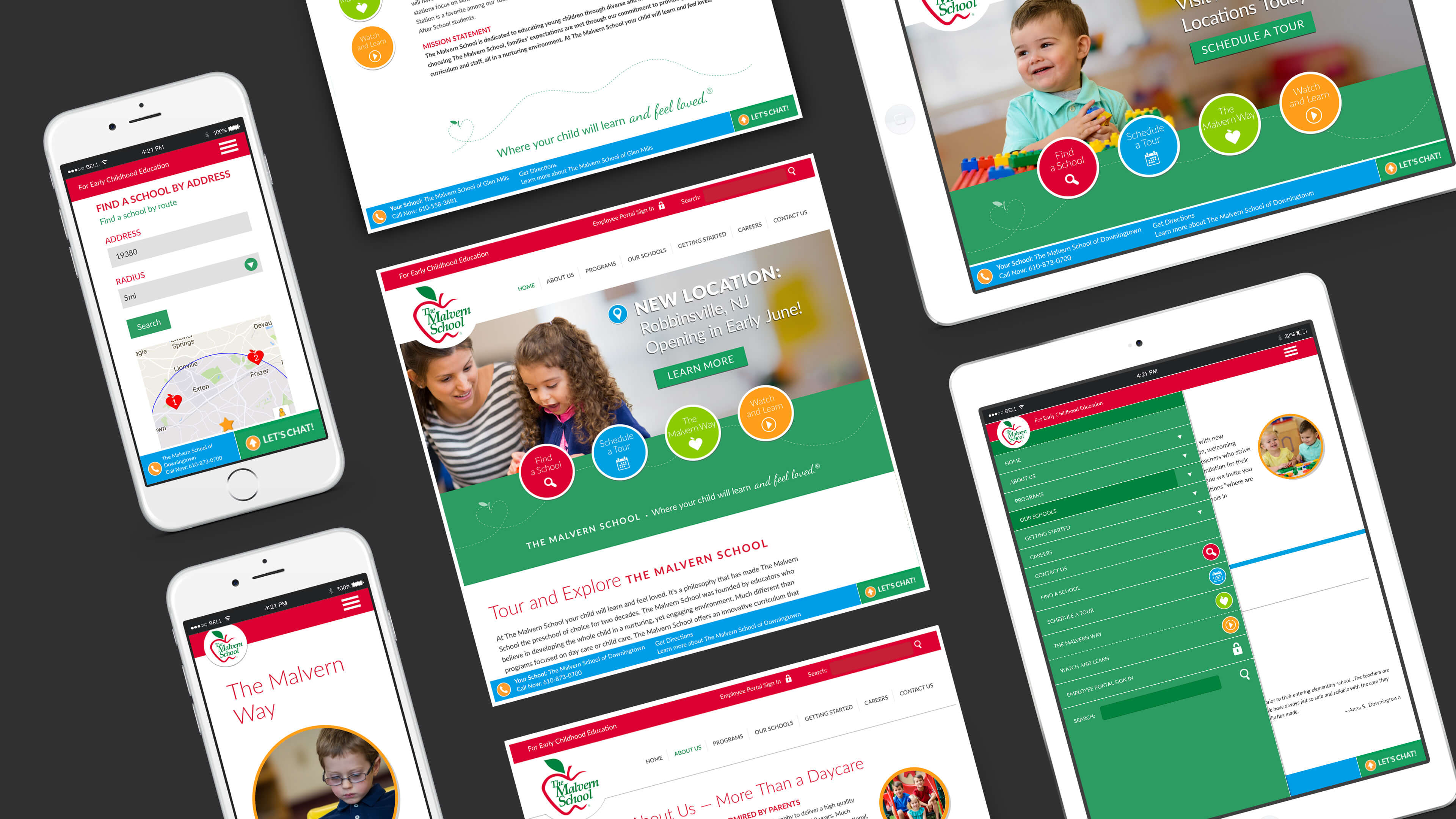 Website Design and Development for Education