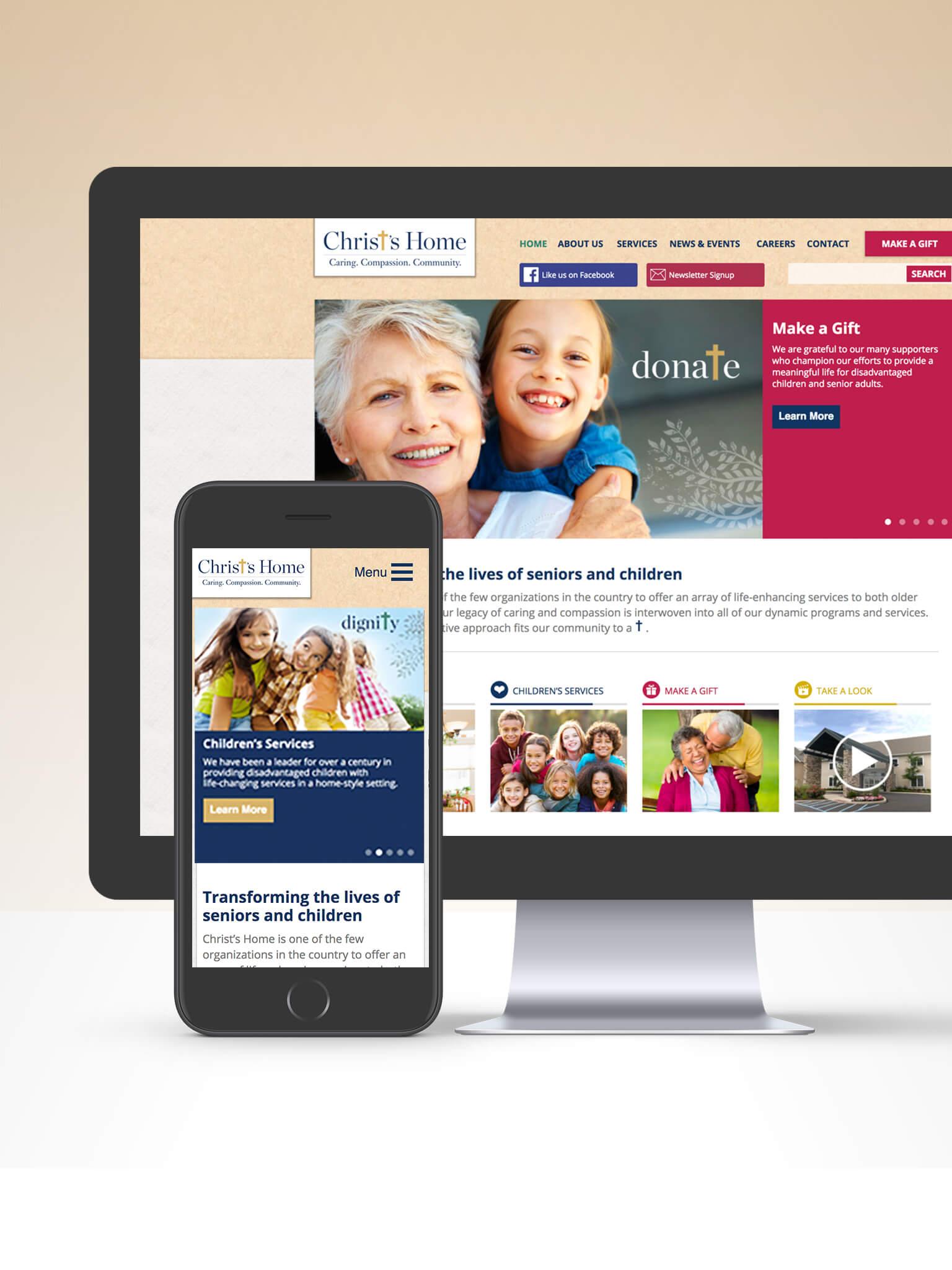 Web Design and Wordpress Development for Retirement Industry