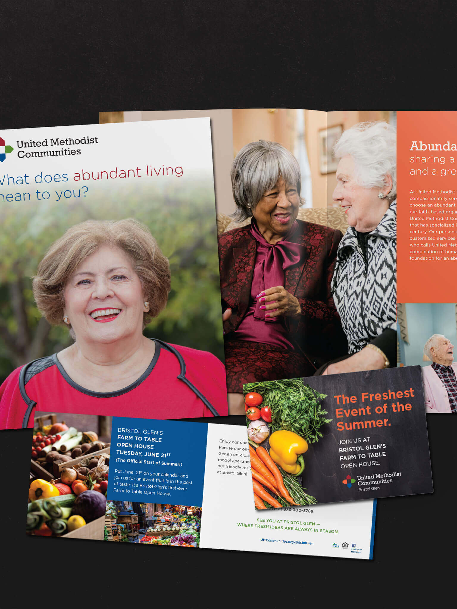 Print Design and Marketing for Senior Living