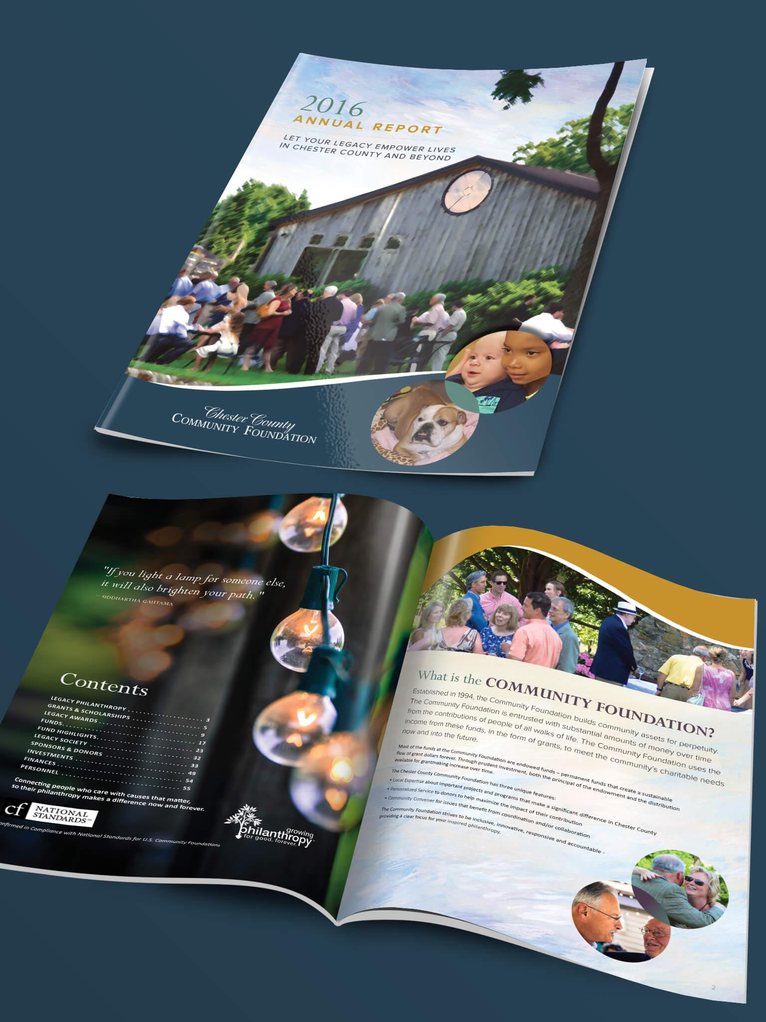 Annual Report Design for Nonprofit